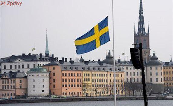 Švédsko uctilo minutou ticha památku obětí teroristického útoku