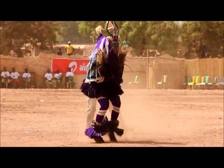 Африканский зажигательный танец