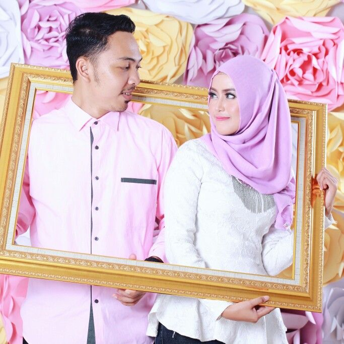 Prewedding Hijab Flower