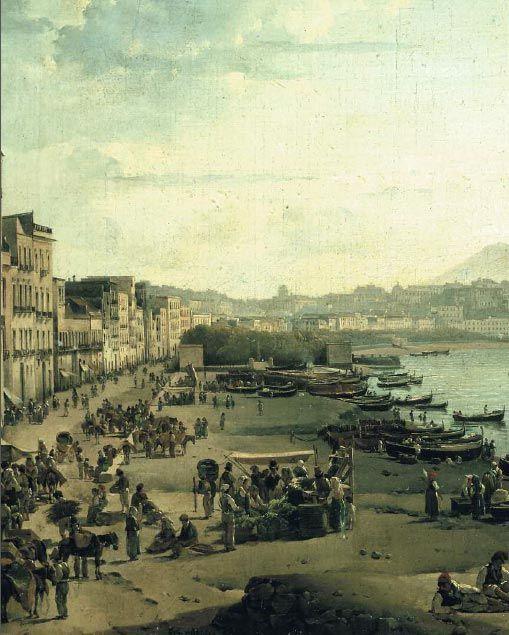 Sylvester SHCHEDRIN. A View of Naples (Riviera di Chiaia). 1826