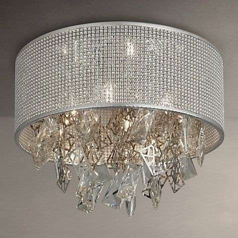 Buy John Lewis Tiffany Mesh Semi Flush Ceiling Light