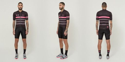 New colours are coming soon. A performance cycling jersey for training and racing in mild to warm weather, in the colours of the Rapha Cycling Club.