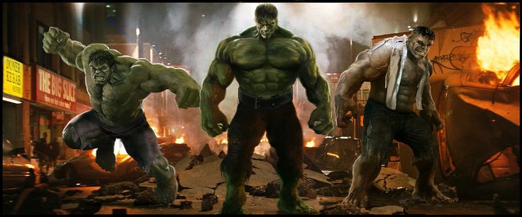 The Incredible Hulks by Simon-Williams-Art.deviantart.com on @DeviantArt
