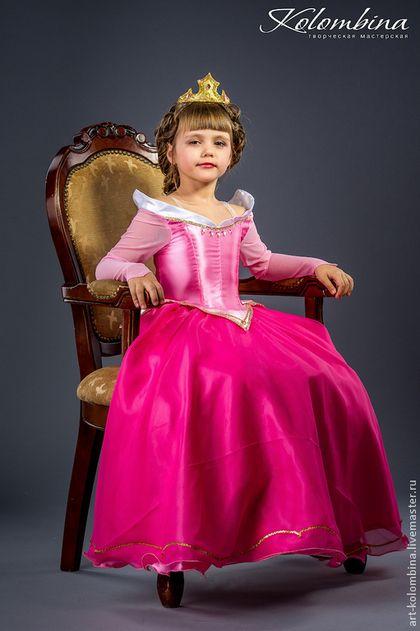 Купить Костюм Спящей Красавицы, Авроры - розовый, аврора, спящая красавица, карнавальный костюм