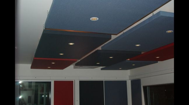 Fabric Acoustic Ceiling Panels To Reduce Noise And Improve