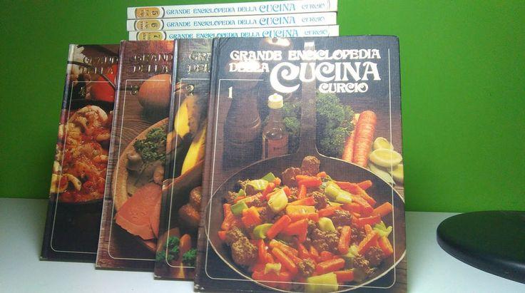 Grande Enciclopedia della Cucina - Curcio Editori 24 Volumi - Idea Regalo Natale
