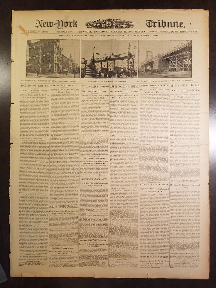 New York Tribune newspaper December 19 1903 Wright Brothers First Flight Story Front Page http://www.virginialiving.com/culture/the-big-story/