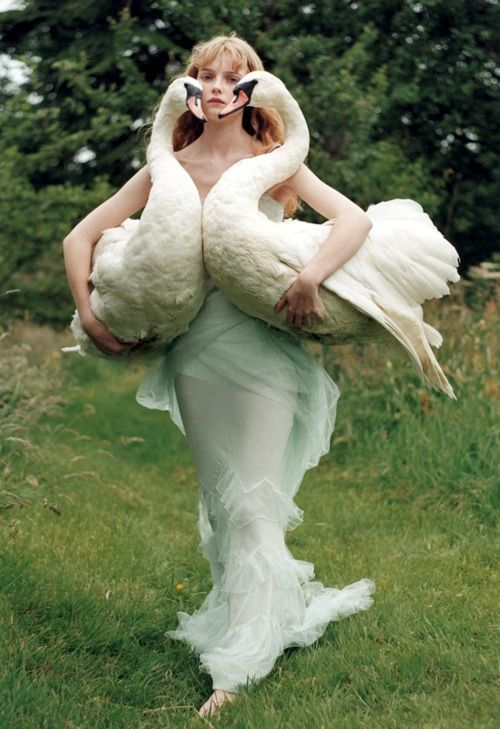 Swan Heart - Tim Walker, Vogue