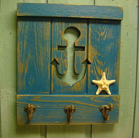 Anchor Hook Coat Rack