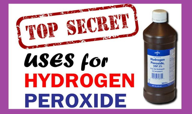 29 Best Peroxide Uses Images On Pinterest Cleaning