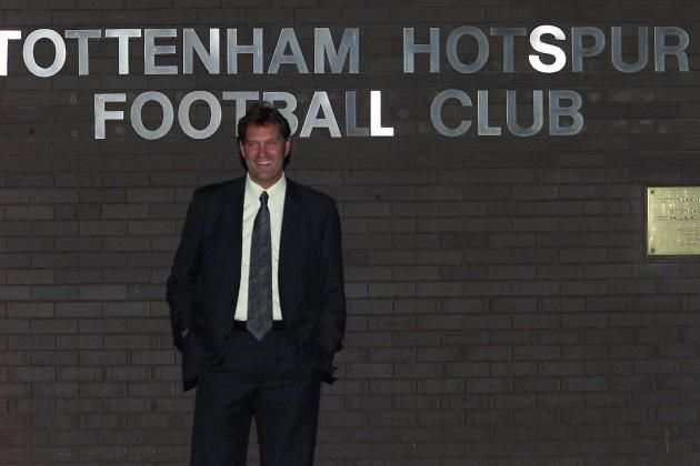 Glenn Hoddle Returns to Tottenham as Manager 2001