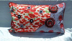 giant pillow - Poppies