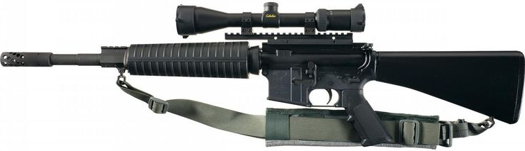 Stag Arms Stag-15 Semi-Automatic Rifle with Alexander Arms 50 Beowulf Upper Receiver and Scope