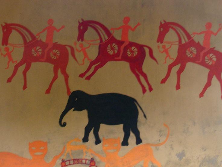 Pithora painting, India