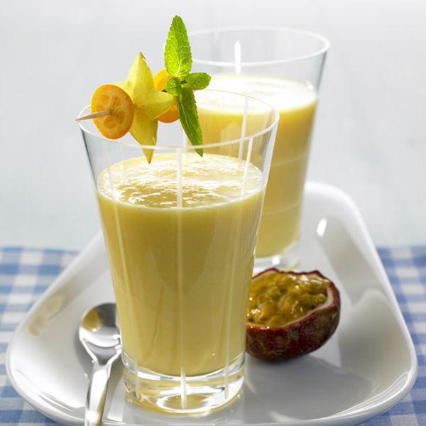 Smoothie met yoghurt en fruit, 2 points #WeightWatchers #WWrecept