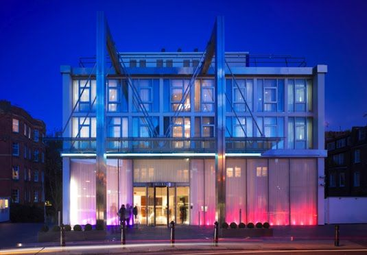 Boutique spa hotel in west London with a choice of room types - one offer includes dinner