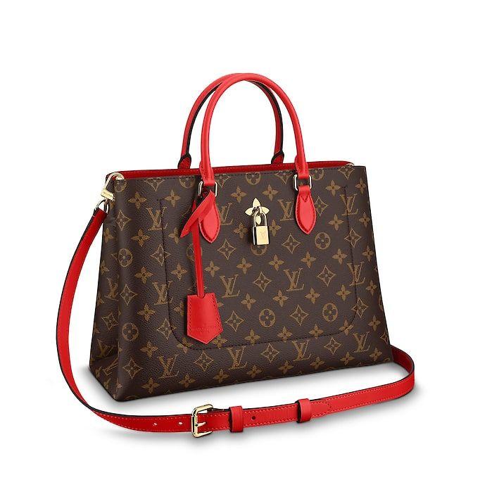 30784239008e Flower Tote Monogram Canvas Damen Handtaschen | LOUIS VUITTON | All about  the bag! | Louis vuitton, Louis vuitton handbags, Bags