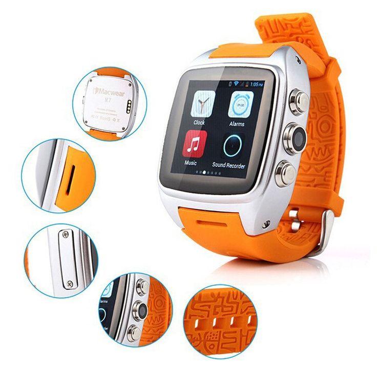 Android-Handy Uhr Armbanduhr Dual Core 3G Bluetooth Smart Uhr telefon Smartwatch mit RAM 512 MB ROM 4 GB Kamera Wifi GPS uhr //Price: $US $209.99 & FREE Shipping //     #smartuhren
