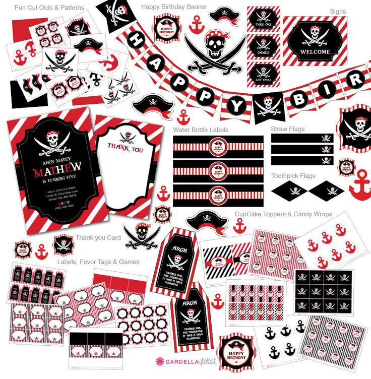 The 25+ best Pirate centerpiece ideas on Pinterest | Pirate ...