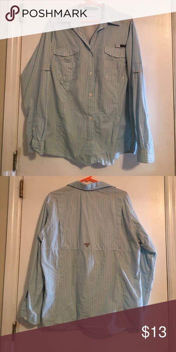Columbia fishing shirts Clean Columbia fishing shirt Columbia Tops Button Down Shirts