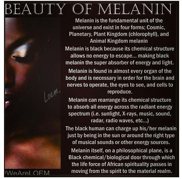 Does your natural melanin influence your psychic ability?  No matter how much or how little melanin you have, there is a connection to your psychic abilities. It's just one more reason we ALL need to take care of our mental, spiritual, and physical health to fully tune into what is already within. Tune into your natural abilities at www.DeniseDivineD.com