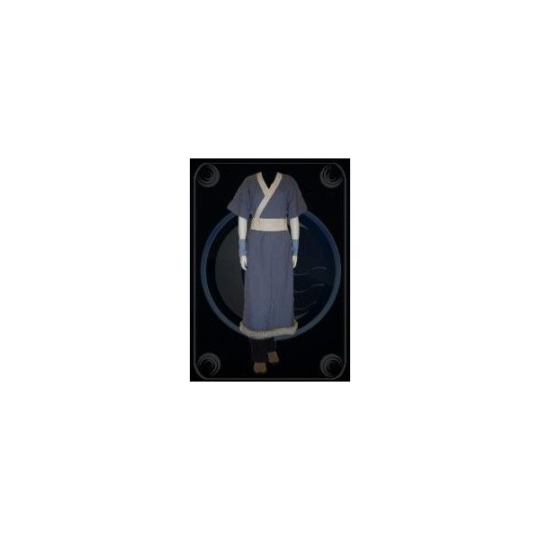Katara Costume ❤ liked on Polyvore featuring costumes, avatar, cosplay, blue costume, role play costumes, cosplay halloween costumes, cosplay costumes and avatar costume