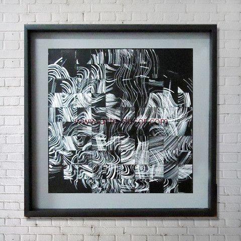 Arte Decor - Smokescreen Modern Abstract Wall Art | Home Decor