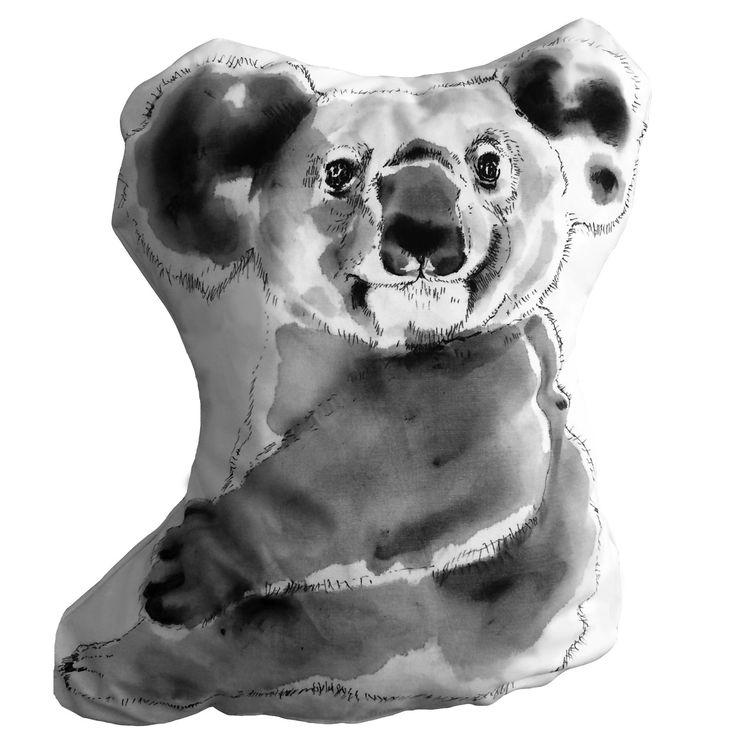 Ručně malovaný polštář  KOALA