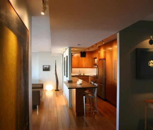Contemporary Galley Style White kitchen, cabinets, $20,000 or less, Phoenix