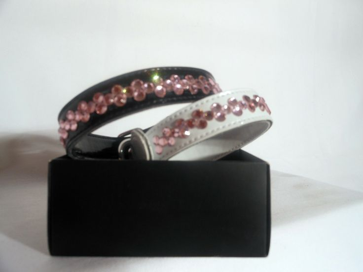 PINK DICE  $24.95 Dice design in pink diamantes. Available in black or white.
