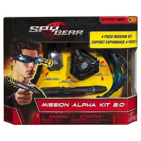 Spy Gear - Mission Alpha Set : Target