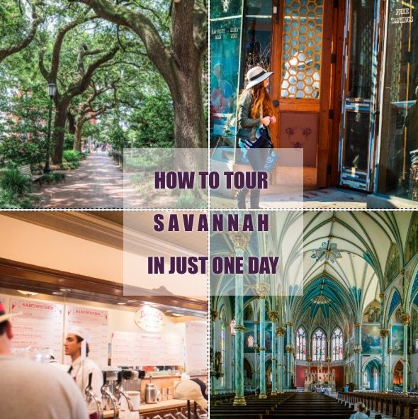 The 9 things you gotta do if you're visiting Savannah for only one day