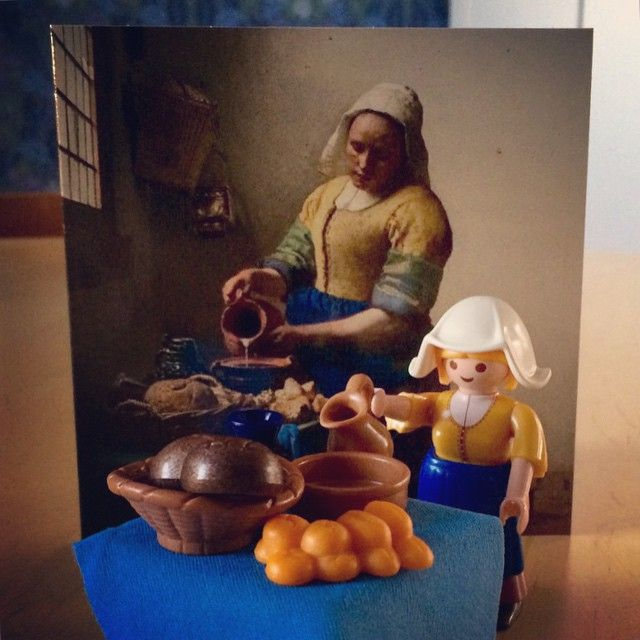 Look what I got! A new toy. #playmobil #vermeer #rijksmuseum #art
