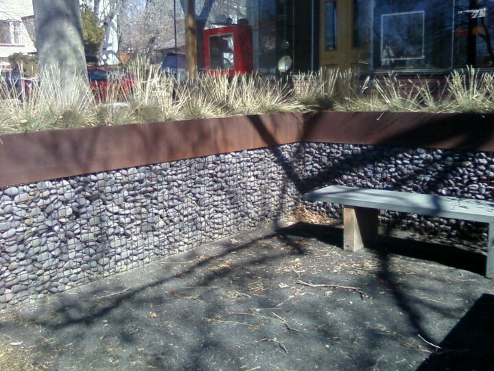 Great Wall Or Outdoor Divider Wire Mesh Fencing Filled