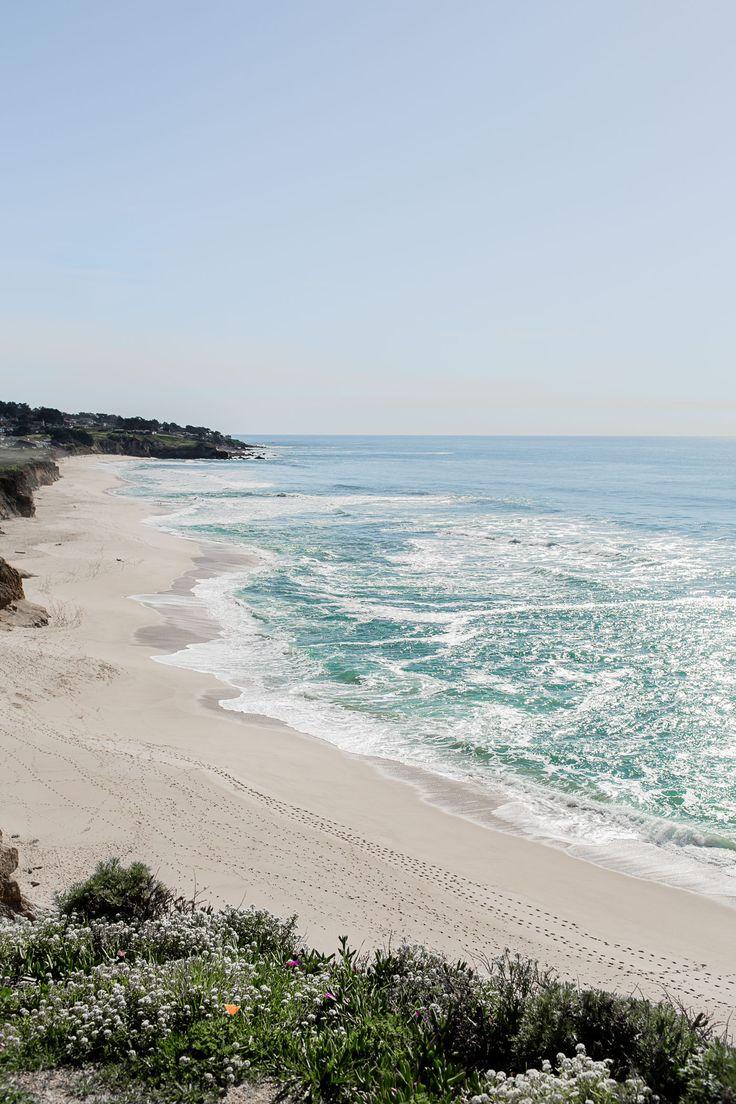 Montara Beach just off of Highway 1 in California