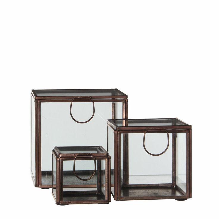 Casa Vivante Grazia Displaybox Set van 3 - Koper #vtwonencadeau