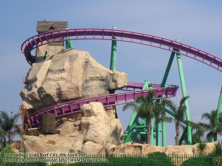 Anaconda rollercoaster, Gold Reef