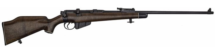 "*WWI British Enfield MkIII Bolt Action Rifle 4/30/2013 - Firearms and Militaria: Richard L. Wray Collection - Live Salesroom Auction .303 British caliber, 25.25"" barrel, S/N 8572. Blue finish, Fajen walnut sporter stocks, 1916 date of mfg."