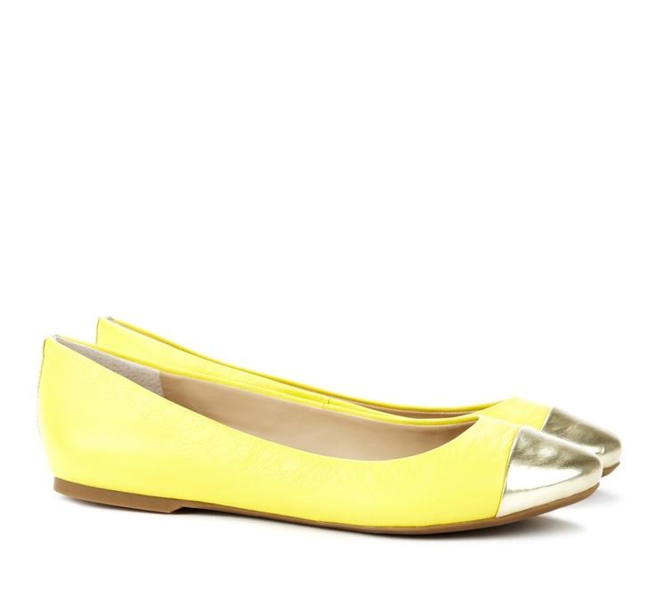 Ballet flats - Lexi - Lemon Platino