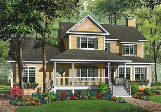 Southern style farmhouse 126 1769 keeping it simple for Simple southern house plans
