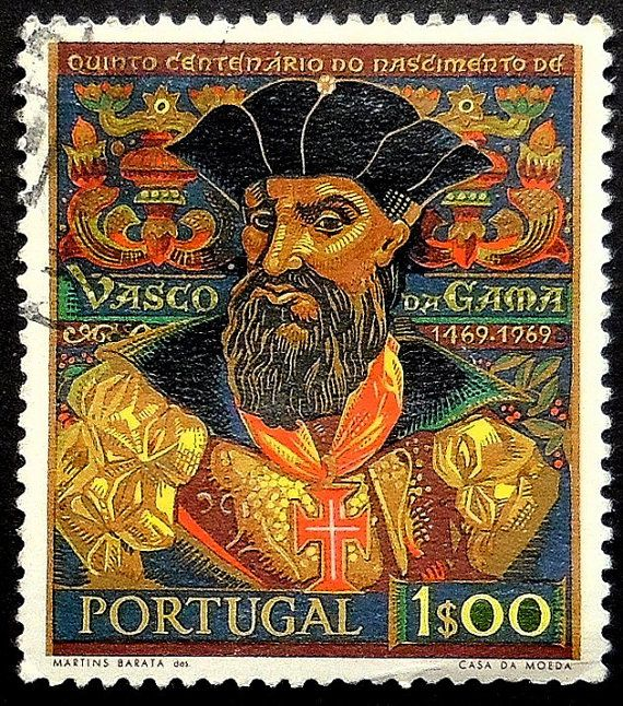 #VascoDaGama #Portuagal #PassionGiftStampArt #Art