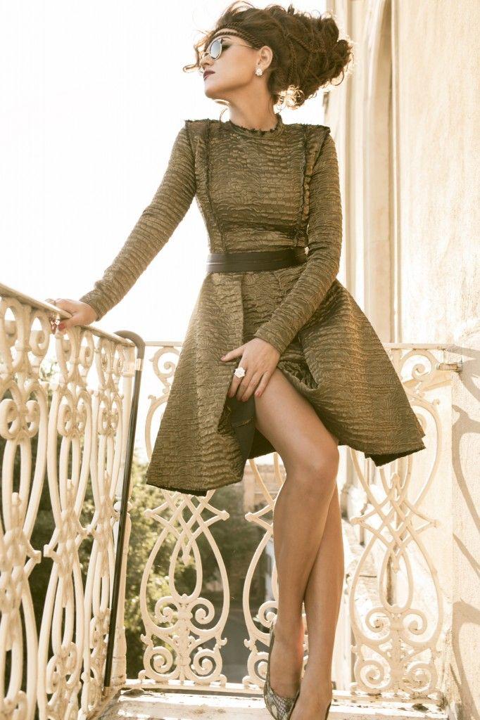 Singer, Songwriter, Musician, Fashionista - - - Melody Gardot - Makeup by Roque Cozzette