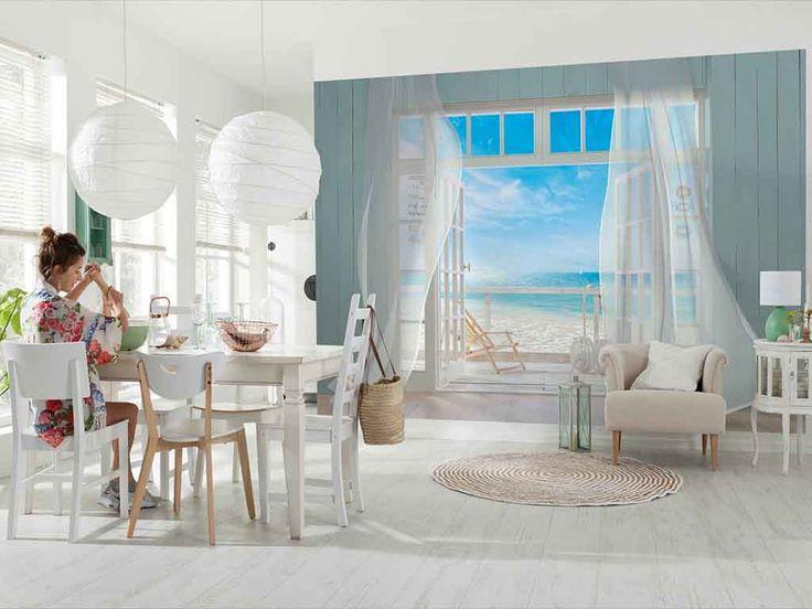 Fototapet peisaj Komar Malibu - briza mării în casa ta. Creează o atmosferă de vacanţă.