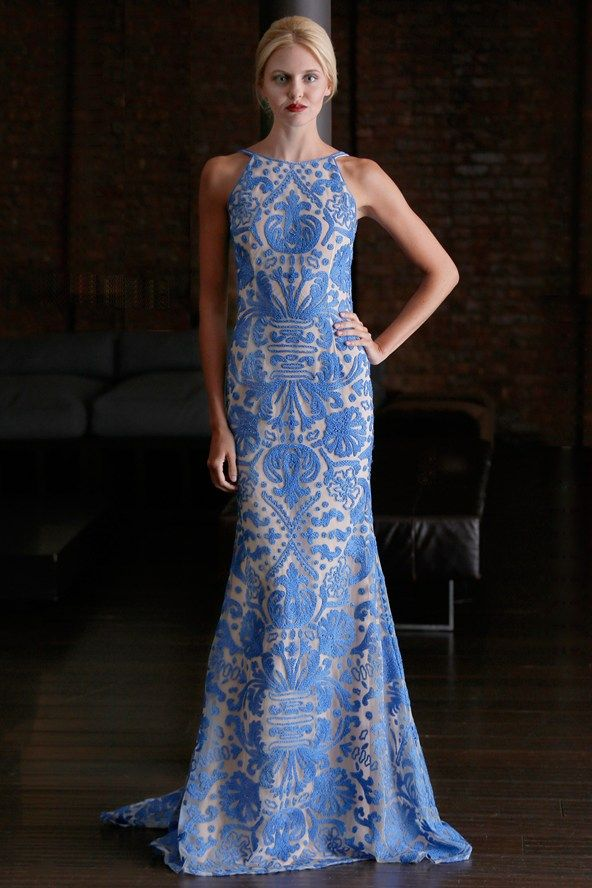 Catwalk photos and all the looks from Naeem Khan - Pre Spring/Summer 2015 Ready-To-Wear New York Fashion Week