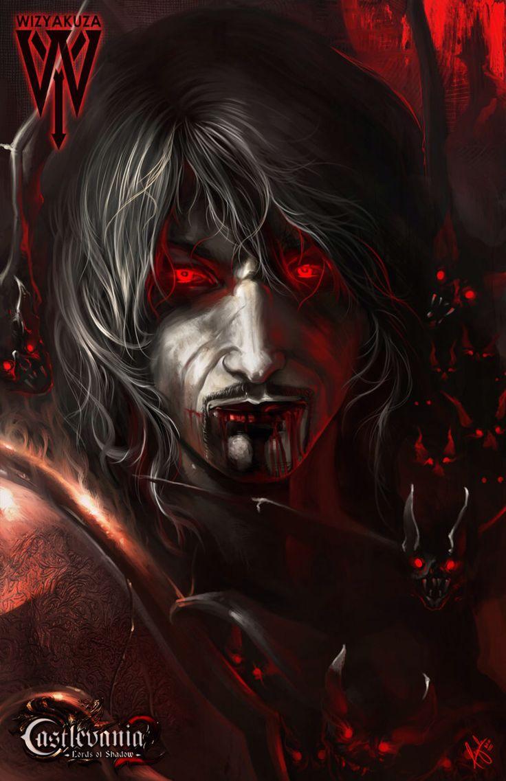 Gabriel / Dracula by wizyakuza on @DeviantArt #Castlevania