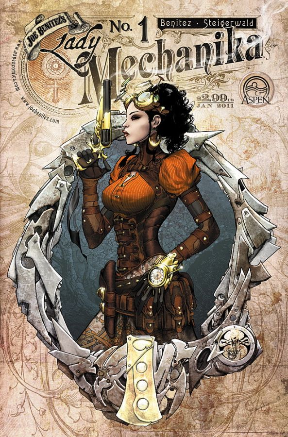 Lady mechanika 1 cover by joebenitez.deviantart.com