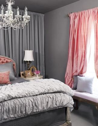 1000 Ideas About Gray Pink Bedrooms On Pinterest