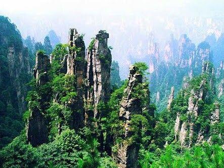 Changjajie, china.. Avatar movie spot