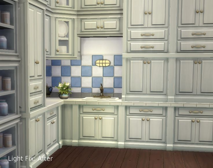 """Mod The Sims - Non-Drop armoires / Light Fix pour """"Vault"""" et """"SCargeaux»   Mise à jour: Bars """"Vault"""" ajoutés"""