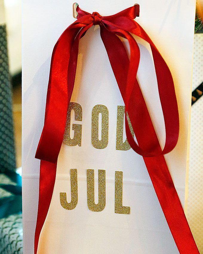 """73 gilla-markeringar, 3 kommentarer - I ♥️ CHRISTMAS (@i_love_christmas.se) på Instagram: """"Gör egna presentpåsar med. Bokstäver från tex Panduro, påsar och band från where ever och ni har…"""""""